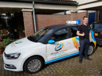 Nick Berghegen - Rijbewijs gehaald bij Rijles Zonder Stress
